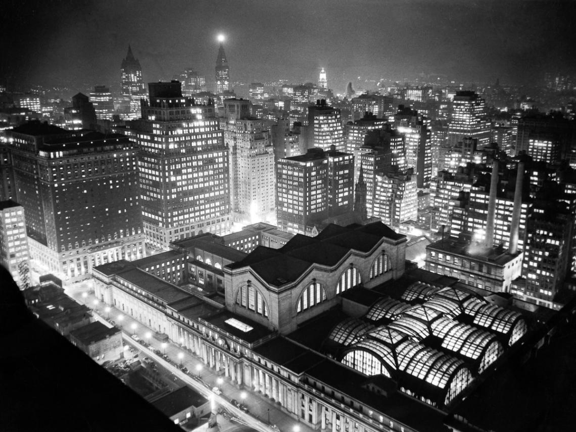 Pennsylvania Station At Night